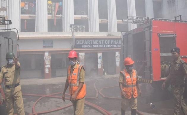 कलकत्ता मेडिकल कॉलेज के फार्मेसी विभाग में लगी आग