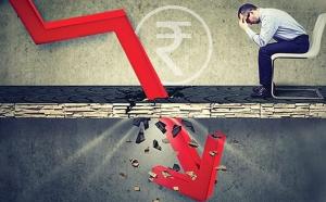 शेयर बाजार की गिरावट और बढ़ी, सेंसेक्स 611 अंक तक टूटा