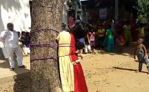 इश्क में बगावत करने पर लड़की को मिली तालीबानी सजा