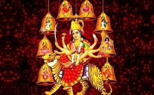 आज से शारदीय नवरात्र की शुरुआत, मंदिरों में दिखी भक्तों की भीड़