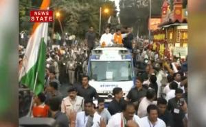 राहुल गांधी की रैली में उमड़ी भीड़, बढ़ी बीजेपी की चिंता