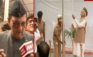 India आजाद हिंद फौज के 75 साल: पीएम मोदी ने लाल किले पर फहराया तिरंंगा