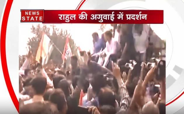 देशभर में कांग्रेस का हल्लाबोल, राहुल गांधी पहुंचे CBI हेडक्वाटर