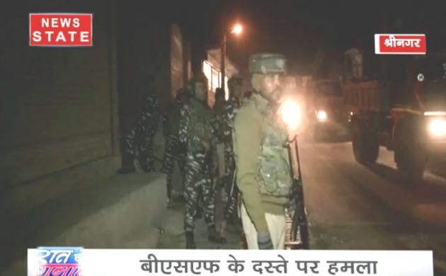 श्रीनगर में आतंकियों ने बरपाया कहर, पांच जवान जख्मी