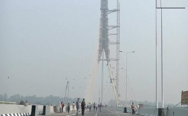 दिल्ली: सिग्नेचर ब्रिज हुआ तैयार, आज सीएम अरविंद केजरीवाल करेंगे उद्घाटन