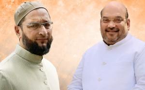 असदुद्दीन ओवैसी ने अमित शाह पर लाए आरोप, कहा- मुस्लिम मुक्त भारत बनाना चाहते हैं