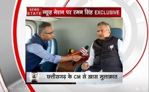 छत्तीसगढ़ चुनाव : सीएम रमन सिंह से न्यूज नेशन की खास बातचीत