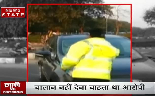 Video: कैसे होती है सड़क पर पुलिसवालों से गुंडागर्दी?