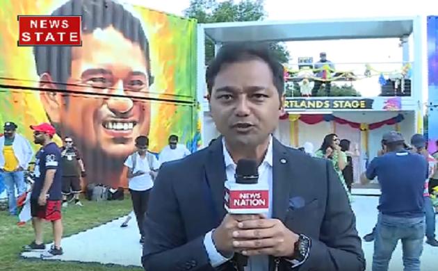Ind vs Aus: मैच के दौरान दर्शकों ने उठाया इंडियन फेस्टिवल का भी लुफ्त