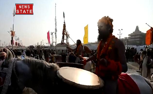 Kumbh 2019: दिव्य और भव्य मेले का खूबसूरत नज़ारा देखें VIDEO