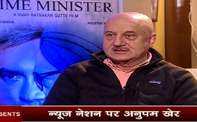 Exclusive: 'The Accidental Prime Minister' में मनमोहन सिंह का किरदार निभा रहे अनुपम खेर से न्यूज नेशन की खास बातचीत