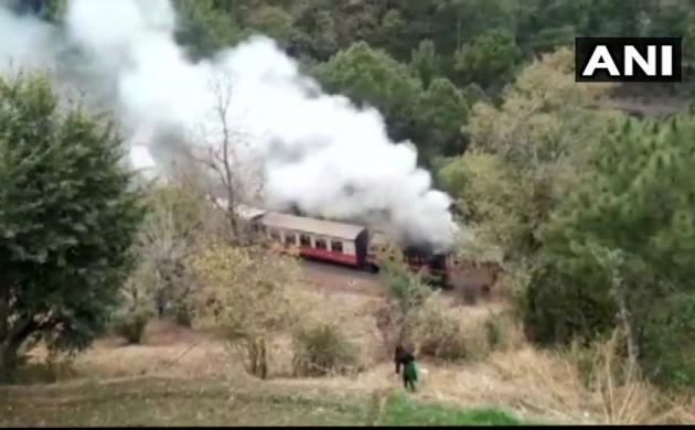 हिमाचल प्रदेश : कालका-शिमला ट्रेन में लगी आग, सभी यात्री सुरक्षित