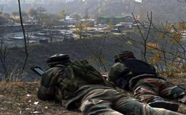 जम्मू-कश्मीर: पाकिस्तान ने की फायरिंग, जवाबी कार्रवाई में एक पाक जवान घायल