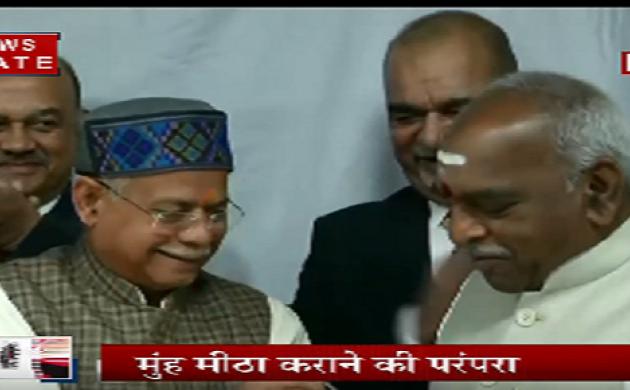 बजट के प्रिंटिंग से पहले हलवा सेरेमनी, दोनों वित्त राज्यमंत्री हुए शामिल