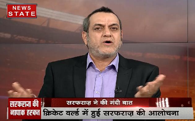 सफराज ने किया क्रिकेट को शर्मिदा, फेलुकवायो को कहे ये शब्द देखिए VIDEO