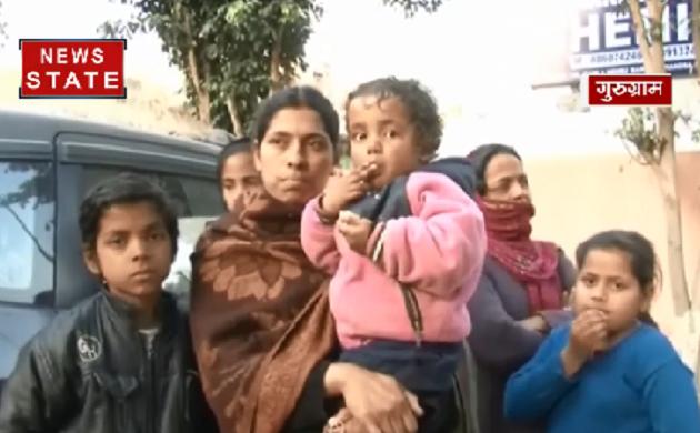 Gurugram: ढाई साल के मासूम का किडनेप, CCTV में नज़र आई आरोपी