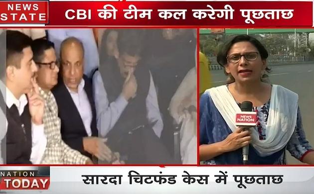 CBI के 10 अधिकारियों की टीम पहुंची कोलकाता, कल शीलौंग में होगी राजीव कुमार से पूछताछ