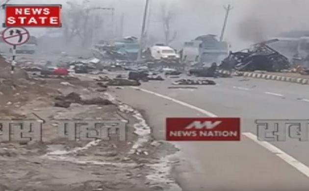 अवंतीपुरा में CRPF के जवानों पर बड़ा आतंकी हमला, 8 जवान हुए जख्मी