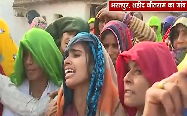 Pulwama Attack: राजस्थान के लाल को अंतिन विदाई, शहीदों के साथ देश
