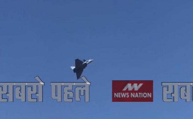 एयरो-इंडिया शो में पहली बार दुनिया का सबसे जबर्दस्त लड़ाकू विमान राफेल ने भरी उड़ान