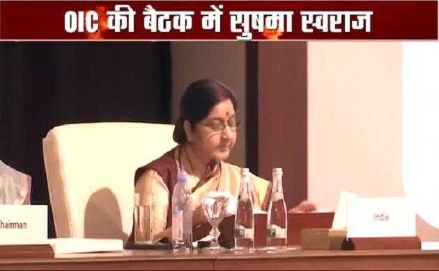 OIC की बैठक में बोलीं सुषमा स्वराज, भारत-अरब के रिश्ते रहे हैं ऐतिहासिक