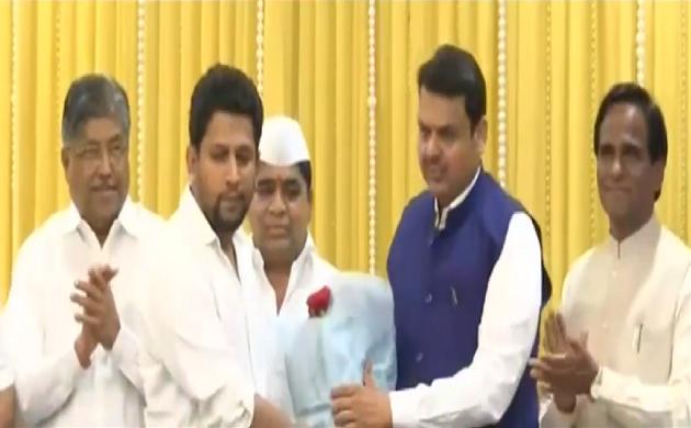 महाराष्ट्र में कांग्रेस को बड़ा झटका, सुजय विखे पाटिल ने थामा बीजेपी का हाथ