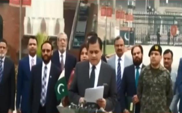 करतारपुर कॉरिडोर निर्माण के रूप रेखा पर चर्चा के लिए पाकिस्तानी दल वाघा बॉर्डर पहुंचा