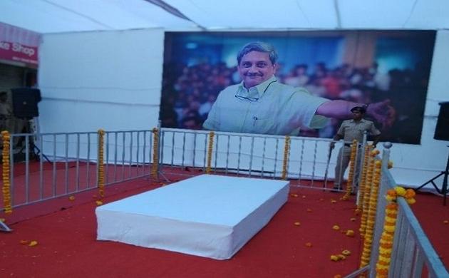 Manohar Parrikar : मनोहर पर्रिकर के लिए आज झुका रहेगा राष्ट्रीय ध्वज, अंतिम यात्रा के लिए ट्रक तैयार