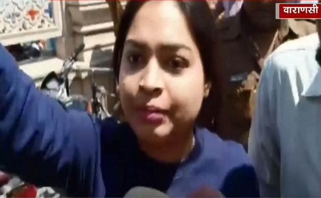 काशी में प्रियंका की सभा में हंगामा, कांग्रेस कार्यकर्ताओं ने की मोदी समर्थक छात्रा के साथ की बदसलूकी
