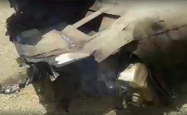 राजस्थान के जोधपुर में क्रैश हुआ MIG 27 फाइटर प्लेन
