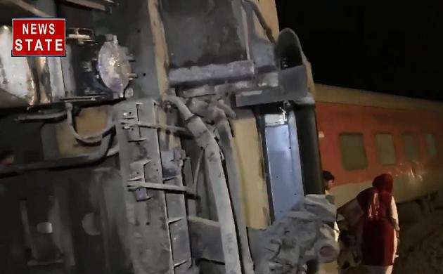 कानपुर से 16 किलोमीटर दूर हुआ बड़ा हादसा, रुमा स्टेशन के पास पटरी से उतरी एक्सप्रेस