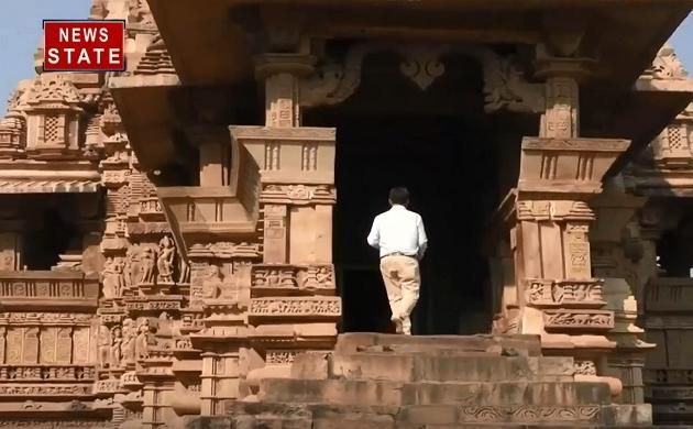 GROUND REPORT: बेमिसाल हैं मध्य प्रदेश के खजुराहो की कलाकृतियां, देखें वीडियो