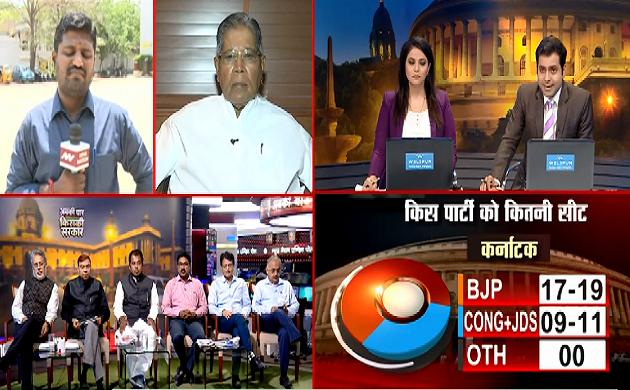 Exit Poll 2019 : आंध्र प्रदेश में कांग्रेस का खाता भी खुलता नहीं नज़र आ रहा