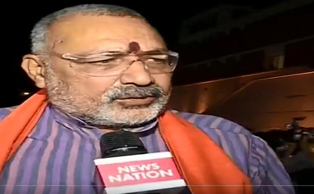 Exclusive : रिजल्ट के बाद विपक्ष ICU से निकल नहीं पाएगी - Giriraj Singh