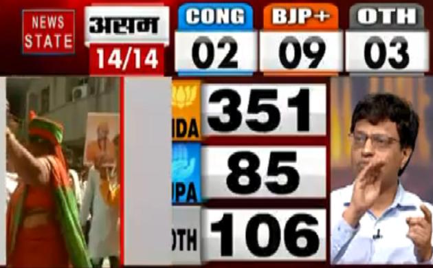 Lok Sabha Election Result 2019 : BJP की जीत पर बधाइयों का तांता