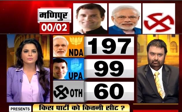 Lok sabha Election Results 2019: NDA-197, UPA-99 और अन्य 60 सीटों पर आगे, देखें वीडियो