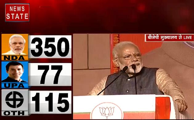 Lok Sabha Election Result 2019 : चुनाव के बाद PM Modi का संबोधन