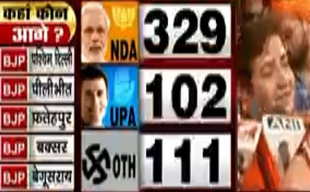 Lok sabha Election Results 2019: साध्वी प्रज्ञा ने जताया जनता का आभार, देखें वीडियो