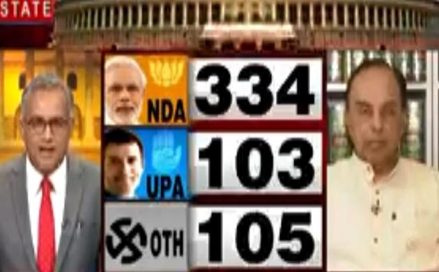 Lok sabha Election Results 2019: NDA की सरकार बनेगी इस बात पर हमें कोई संदेह नहीं था- सुब्रमण्यम स्वामी