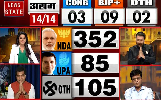Lok Sabha Election Result 2019 : एक बार फिर दिखा Modi का मैजिक