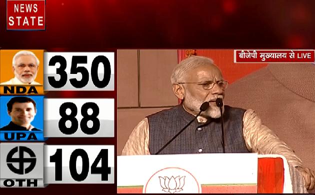 Lok Sabha Election Result 2019 : सभी के दिल में भारत माता की जय का भाव - Narendra Modi