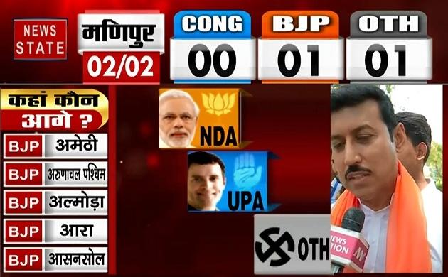 Lok sabha Election Results 2019: मोदी लहर ने  विपक्षी पार्टियों को डूबा दिया- राज्यवर्धन सिंह राठौर