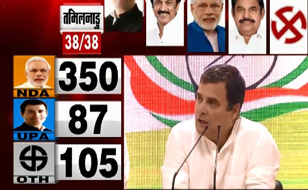 Lok Sabha Election Result 2019 : हमारी लड़ाई विचारधारा की लड़ाई है - Rahul Gandhi