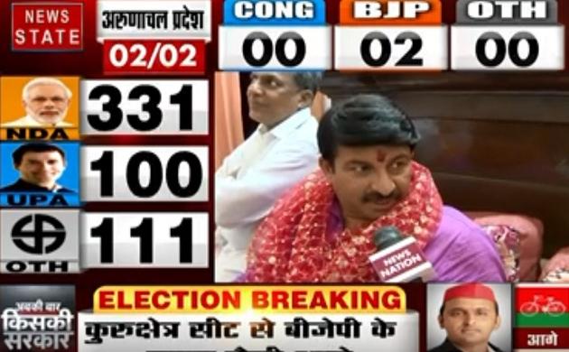Lok sabha Election Results 2019: कांग्रेस सरकार में नहीं बदली उत्तर पूर्वी दिल्ली की दशा- मोनज तिवारी