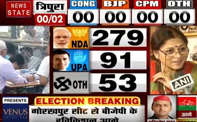 Lok sabha Election Results 2019: BJP की बढ़त से बेहद खुश रूपा गांगुली, देखें वीडियो