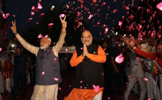 पहली बार BJP पहुंची 300 के पार, देखिए सियासत में मोदी के संघर्ष की कहानी
