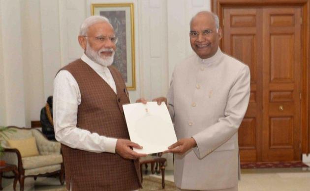 राष्ट्रपति से एनडीए को सरकार बनाने का न्योता, मोदी बोले- नई सरकार कोई कमी नहीं छोड़ेगी