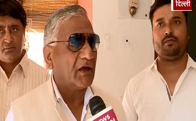 Exclusive : अब केवल विकास की बात होगी - VK Singh