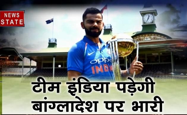World cup: आज बांग्लादेश के खिलाफ आखिरी दाव खेलेगी टीम इंडिया, देखें video