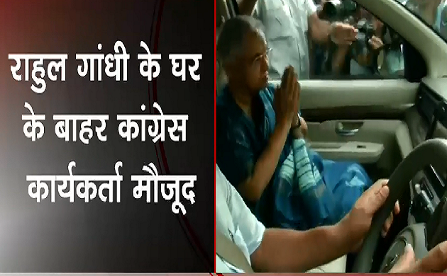 Breaking : Rahul Gandhi से मिलने उनके घर पहुंची Sheila Dikshit